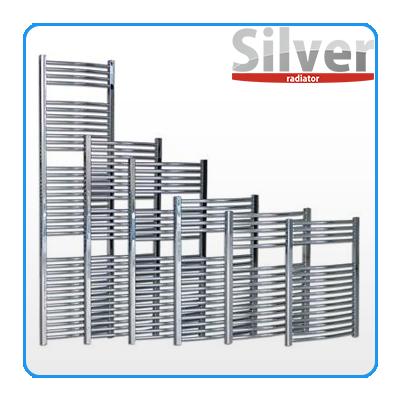 Silver króm törölközőszárító radiátor