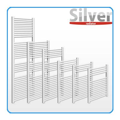 Silver fehér törölközőszárító radiátor
