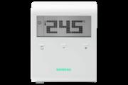 Siemens RDD100.1 szobatermosztát LCD kijelzővel