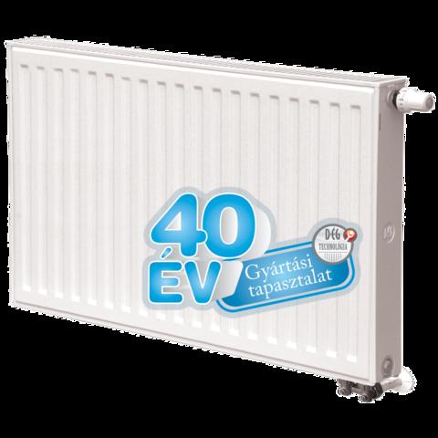 Dunaferr LUX UNI 33K 900x900 radiátor balos