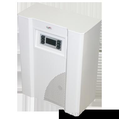 Mika 6EU 6kW-os parapetes ionizációs mini kazán ventilátorral, váltószelep nélkül, fehér